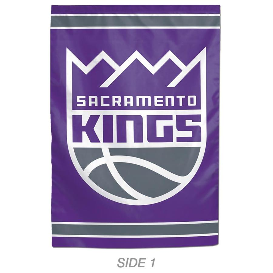 WinCraft Sports 1-ft W x 1.5-ft H Sports Sacramento Kings Garden Flag