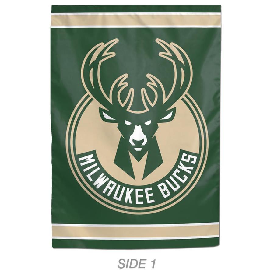 WinCraft Sports 1-ft W x 1.5-ft H Sports Milwaukee Bucks Garden Flag