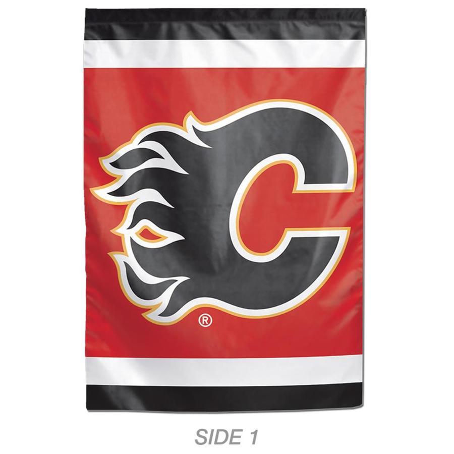 WinCraft Sports 1-ft W x 1.5-ft H Sports Calgary Flames Garden Flag