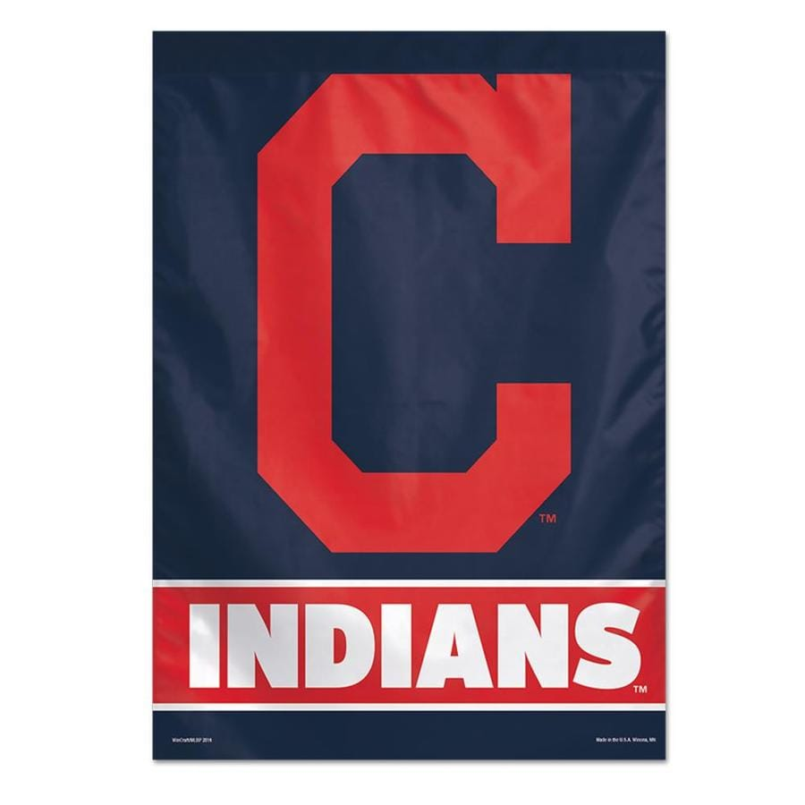WinCraft Sports 2.33-ft W x 3.33-ft H Cleveland Indians Flag