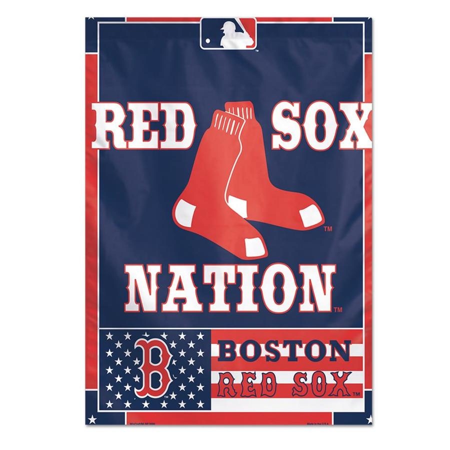WinCraft Sports 2.33-ft W x 3.33-ft H Boston Red Sox Flag