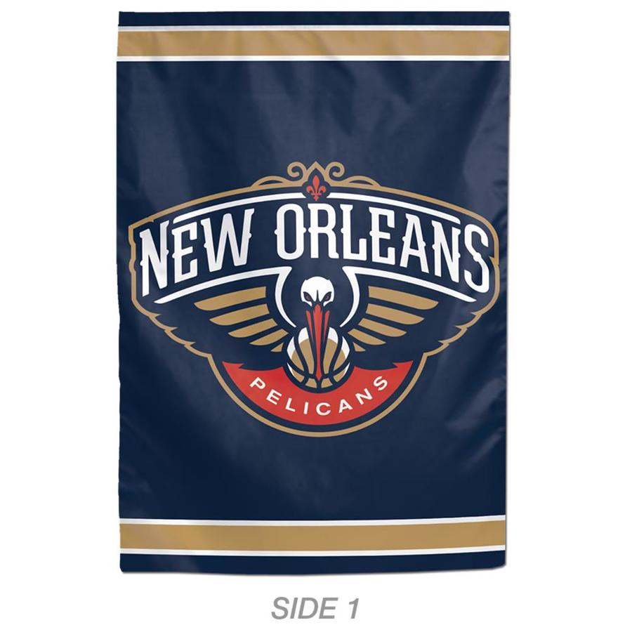 WinCraft Sports 1-ft W x 1.5-ft H Sports New Orleans Pelicans Garden Flag
