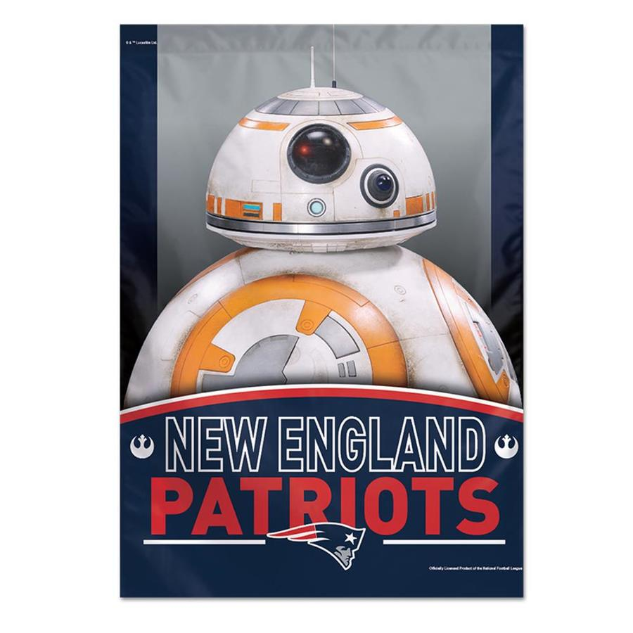 WinCraft Sports 2.33-ft W x 3.33-ft H New England Patriots Flag
