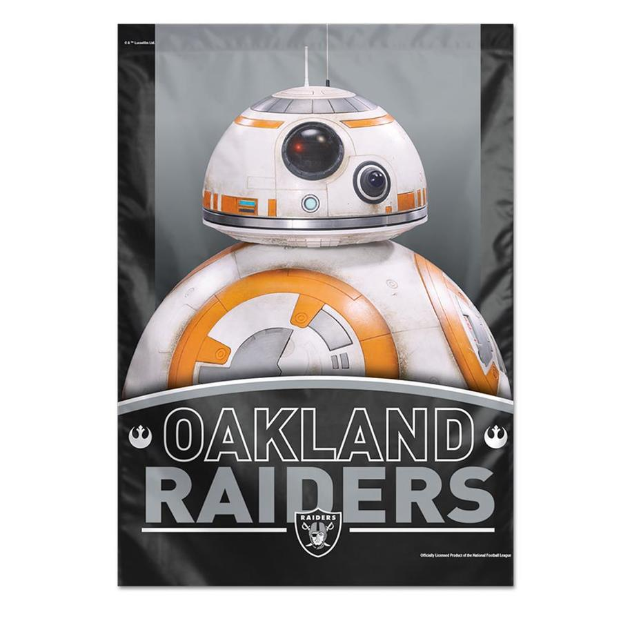 WinCraft Sports 2.33-ft W x 3.33-ft H Oakland Raiders Flag