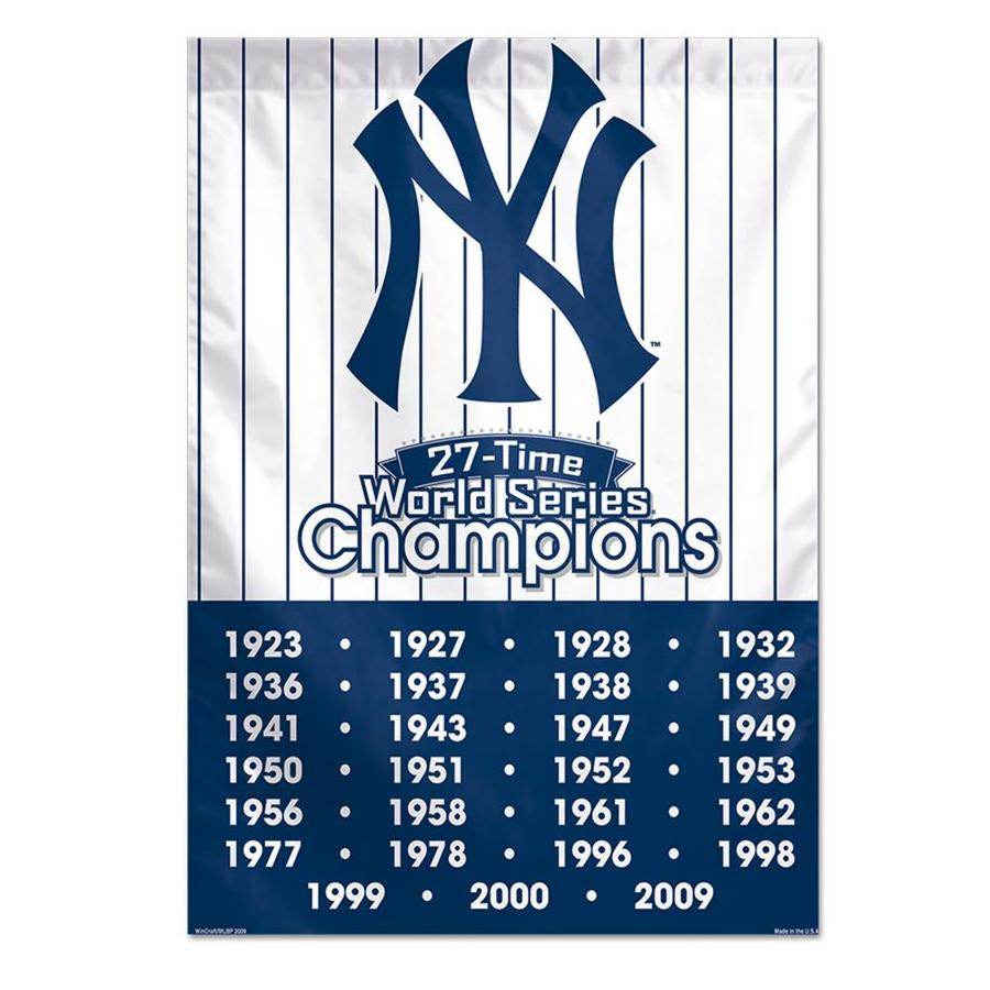 WinCraft Sports 2.33-ft W x 3.33-ft H New York State State Yankees Flag