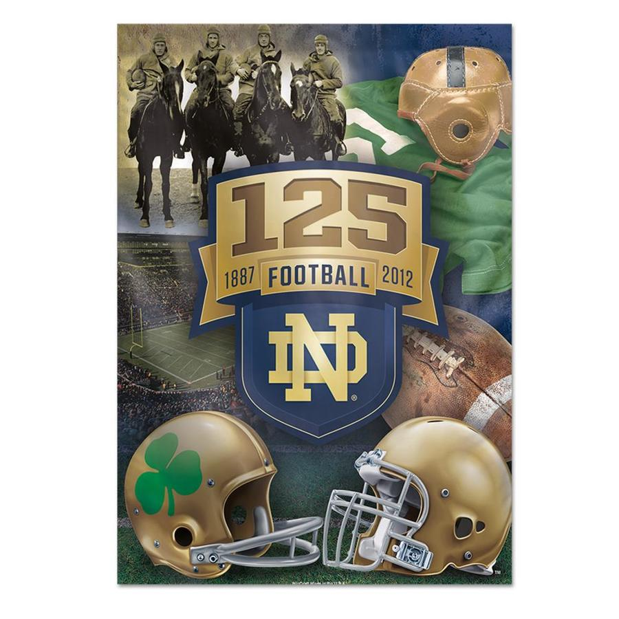 WinCraft Sports 2.33-ft W x 3.33-ft H Notre Dame Flag