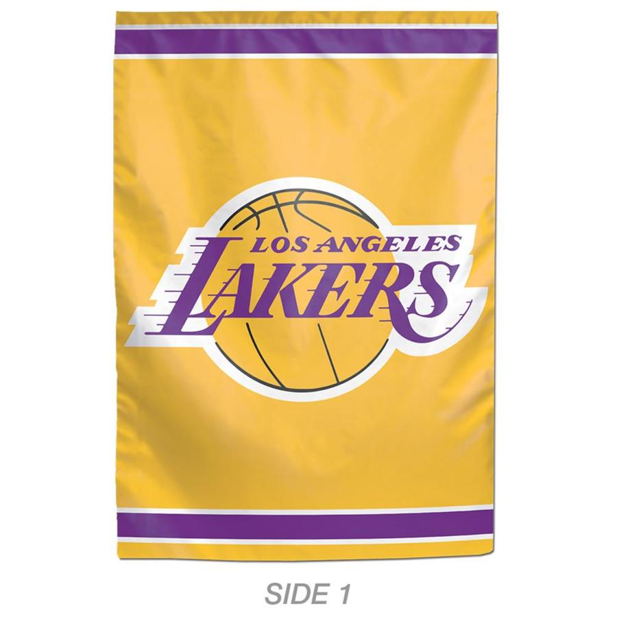 WinCraft Sports 1-ft W x 1.5-ft H Sports Los Angeles Lakers Garden Flag