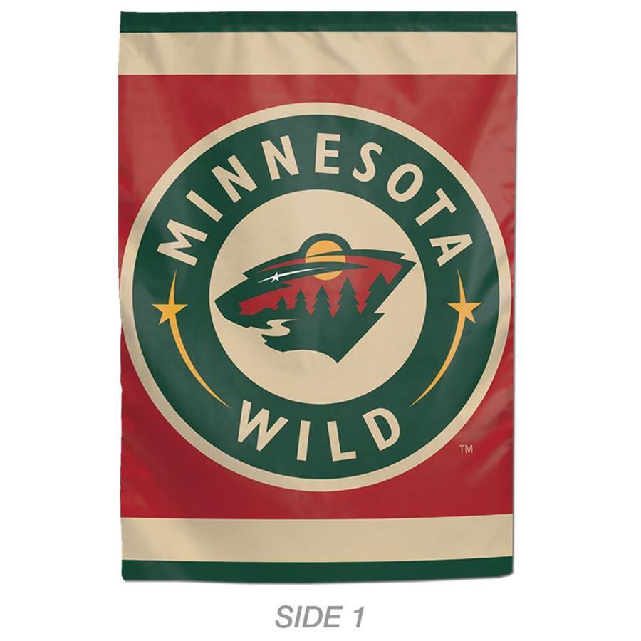 WinCraft Sports 1-ft W x 1.5-ft H Sports Minnesota Wild Garden Flag