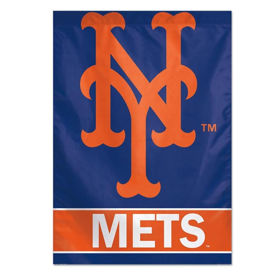 WinCraft Sports 2.33-ft W x 3.33-ft H New York State Mets Flag
