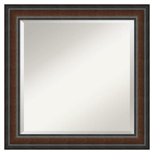 Amanti Art Cyprus Walnut Frame Collection 24.88-in ...