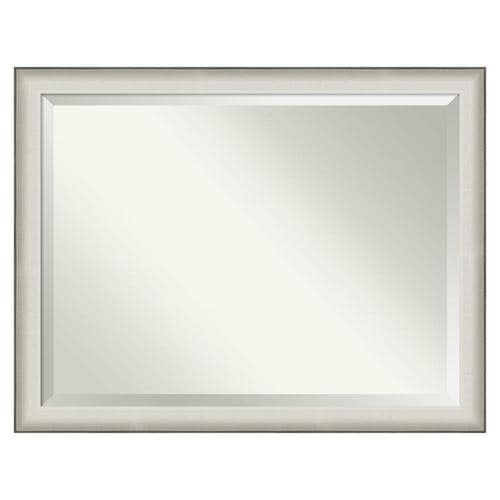 Amanti Art Allure White Frame Collection 44 5 In Distressed Silver