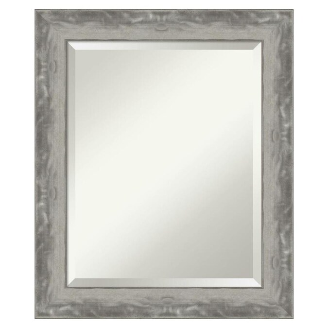 Amanti Art Waveline Silver Frame Collection 20 38 In