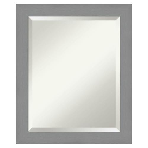 Amanti Art Brushed Nickel Frame