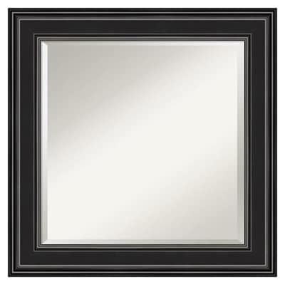 Amanti Art Ridge Black Frame Collection 25 75 In Satin