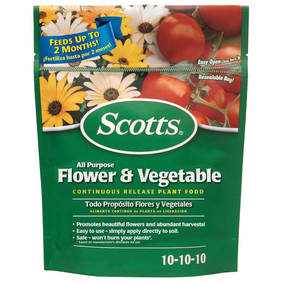 Scotts All Purpose Flower and Vegetable Continuous Release Plant Food All Purpose Food