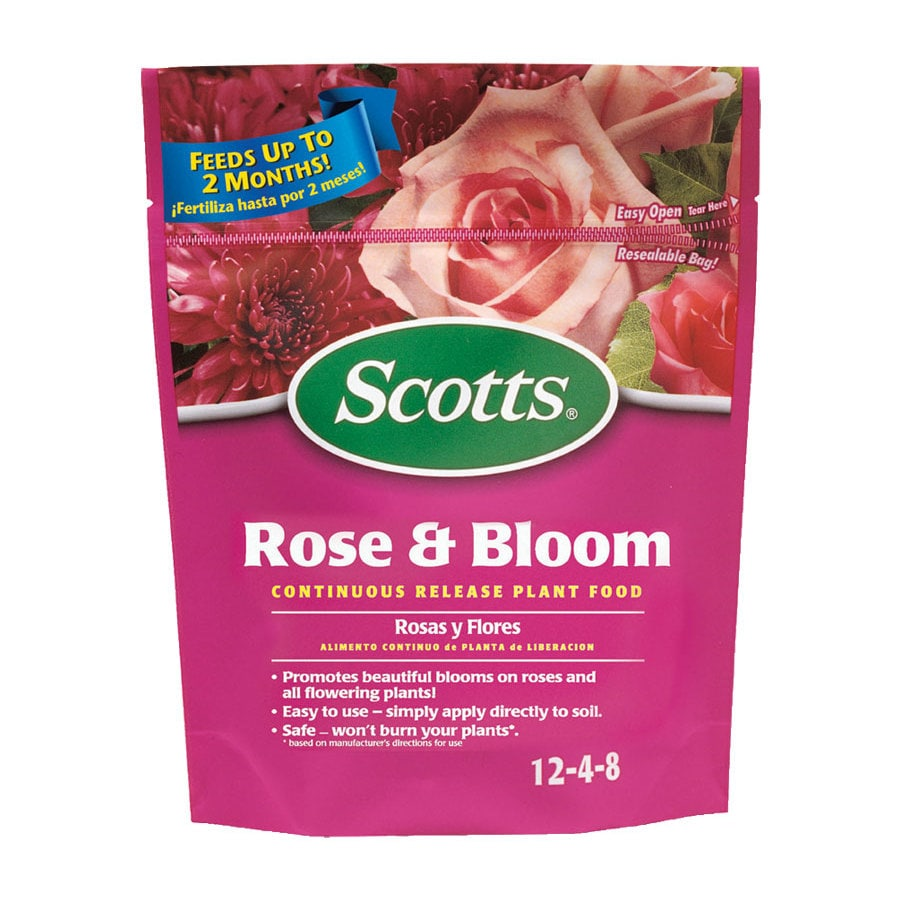 Scotts 20 lb Rose and Bloom Synthetic Flower Food Granules