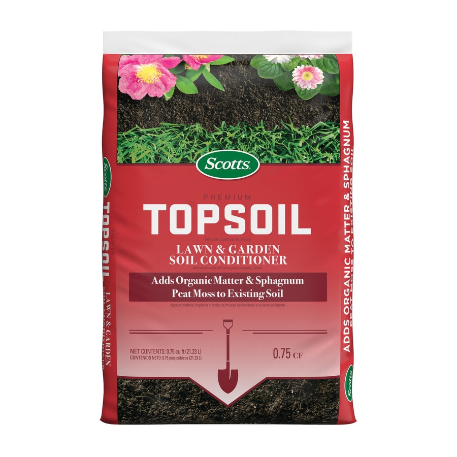 Shop scotts ft top soil at for Compost soil bags