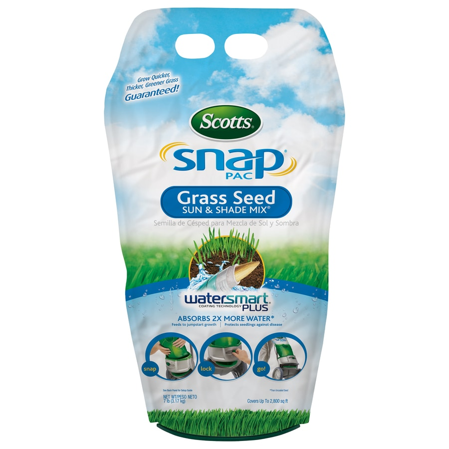 Scotts Snap Pac Sun and Shade Mix 7-lb Sun and Shade Grass Seed
