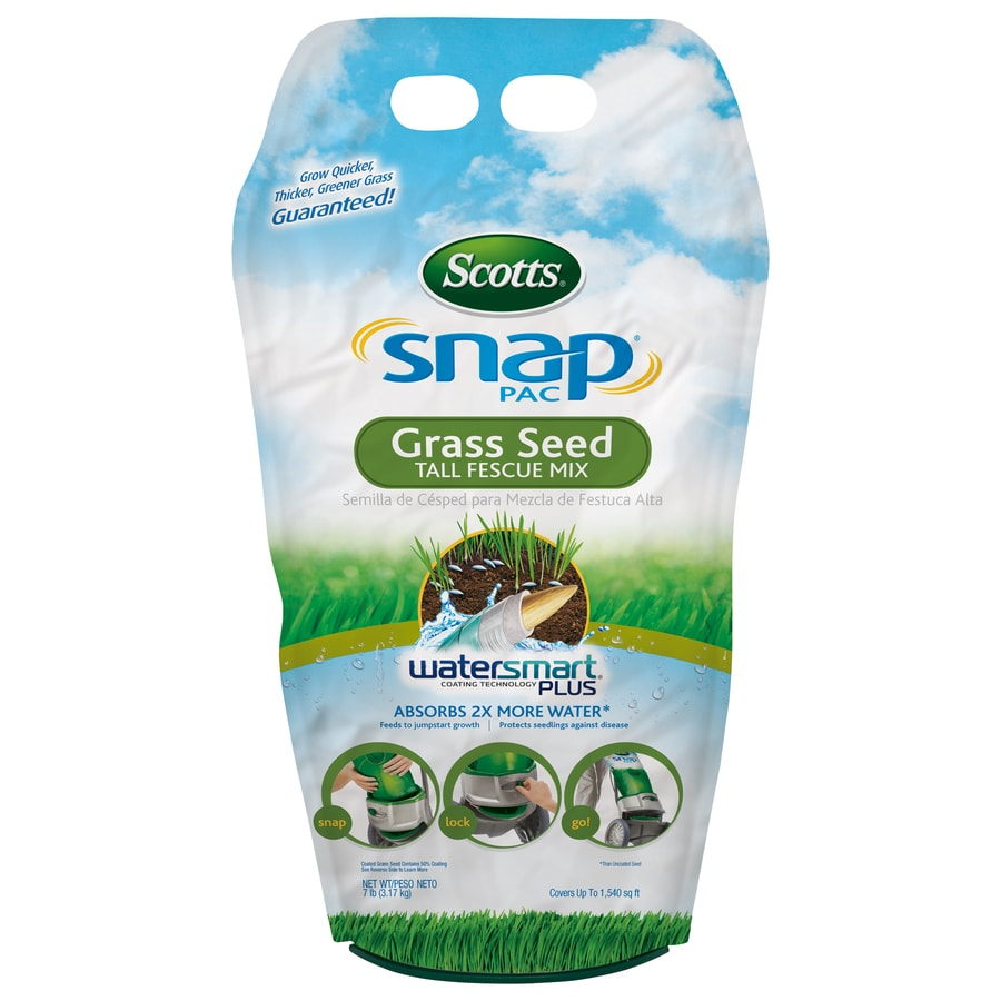Scotts Snap Pac Mix 7-lb Tall Fescue Grass Seed