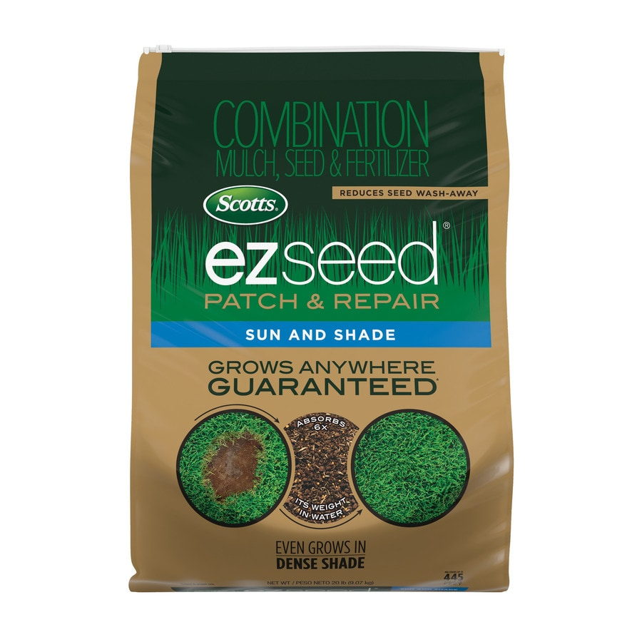 Scotts 20-lb Turf Builder EZ Seed Patch and Repair Sun and Shade Fescue Lawn Repair Mix