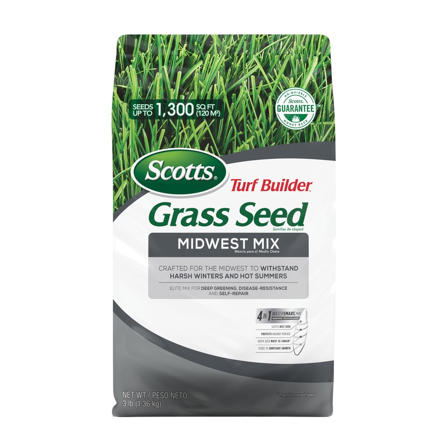 Scotts Turf Builder Midwest Mix 3-lb Midwest Grass Seed