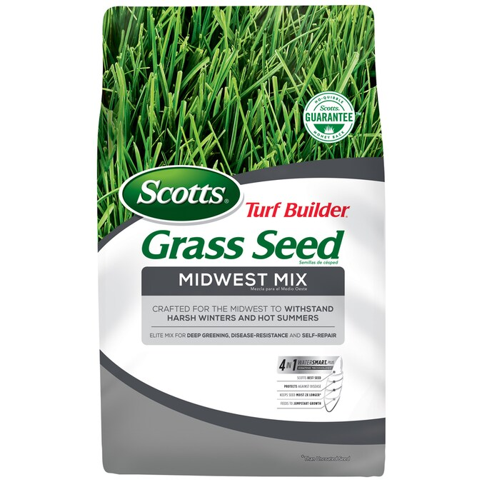 Scotts Turf Builder Midwest Mix 20 Lb Mixture Blend Grass Seed In The Grass Seed Department At Lowes Com