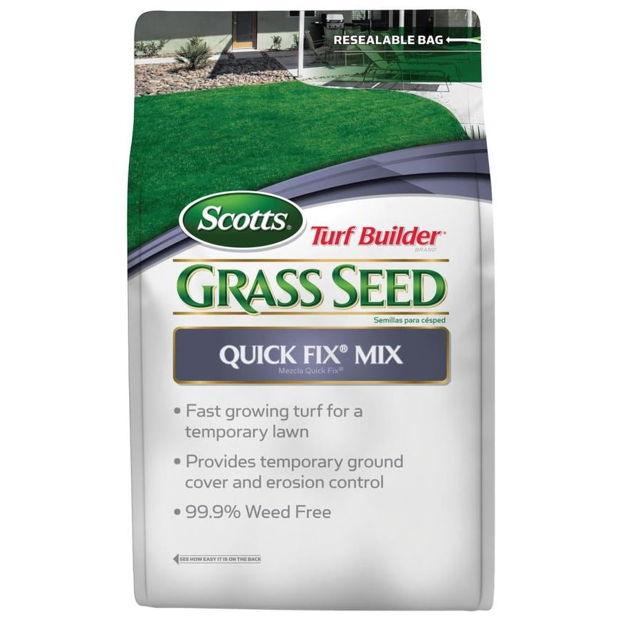 Scotts Turf Builder Quick Fix Mix 3 Pound(S) Grass Seed