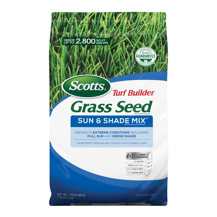 Scotts Turf Builder Sun And Shade 7 Lb Mixture Blend Seed