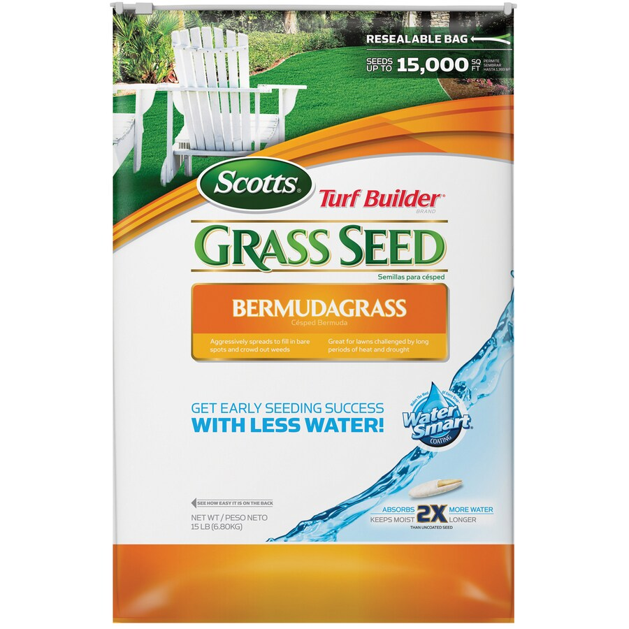 Scotts Turf Builder 15-lb Bermuda Grass Seed
