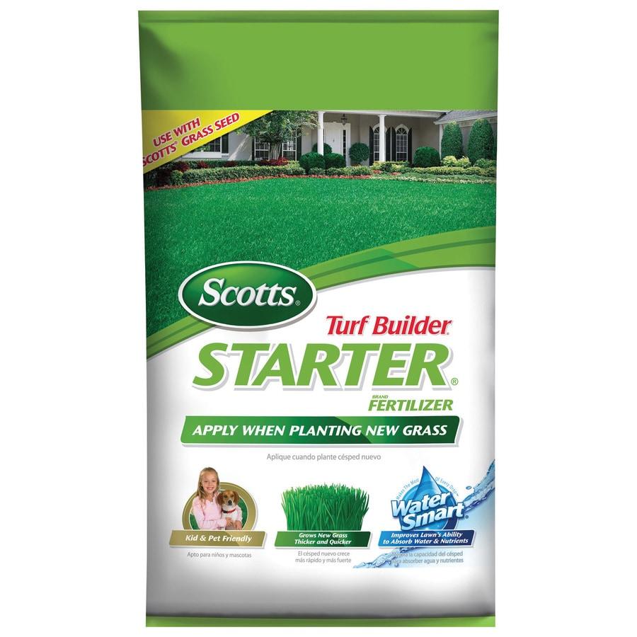 Scotts Lawn Starter Fertilizer