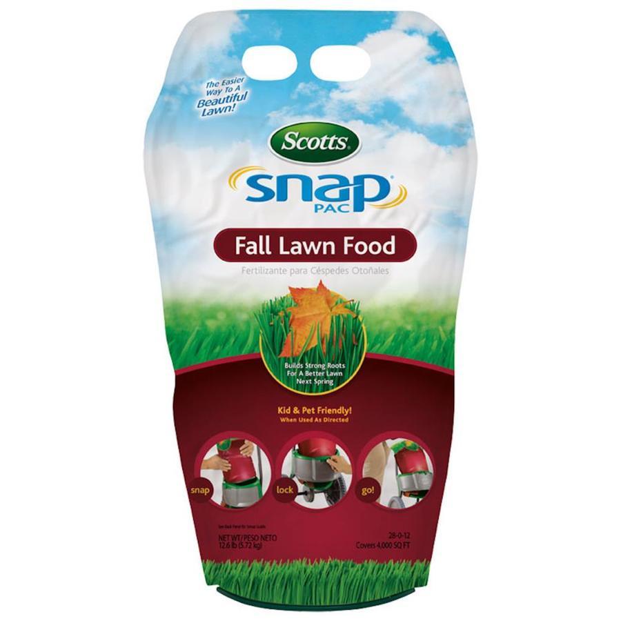 Scotts 4,000-sq ft Snap Pac Fall Lawn Food Fall Lawn Fertilizer (28-0-12)