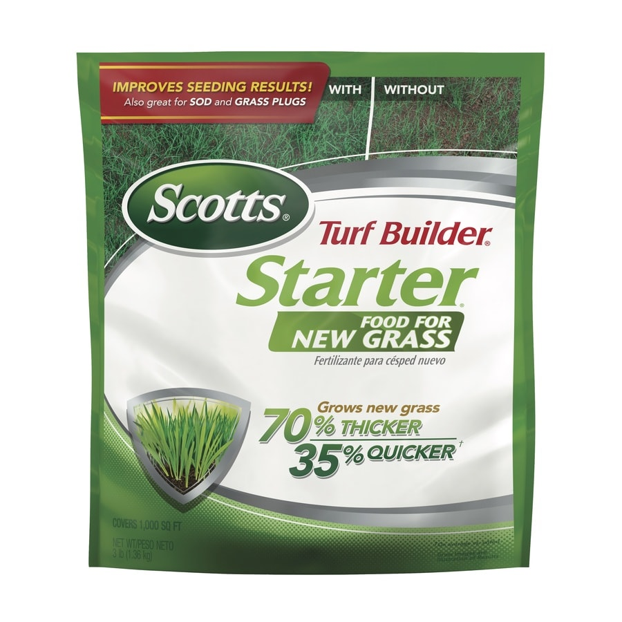 Scotts 1,000-sq ft Turf Builder Starter Food for New Grass Fall Lawn Fertilizer (24-25-4)