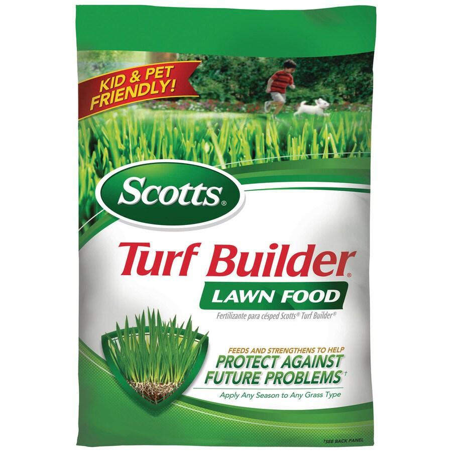 Scotts 2,500-sq ft Northern Turf Builder Lawn Fertilizer (32-0-4)