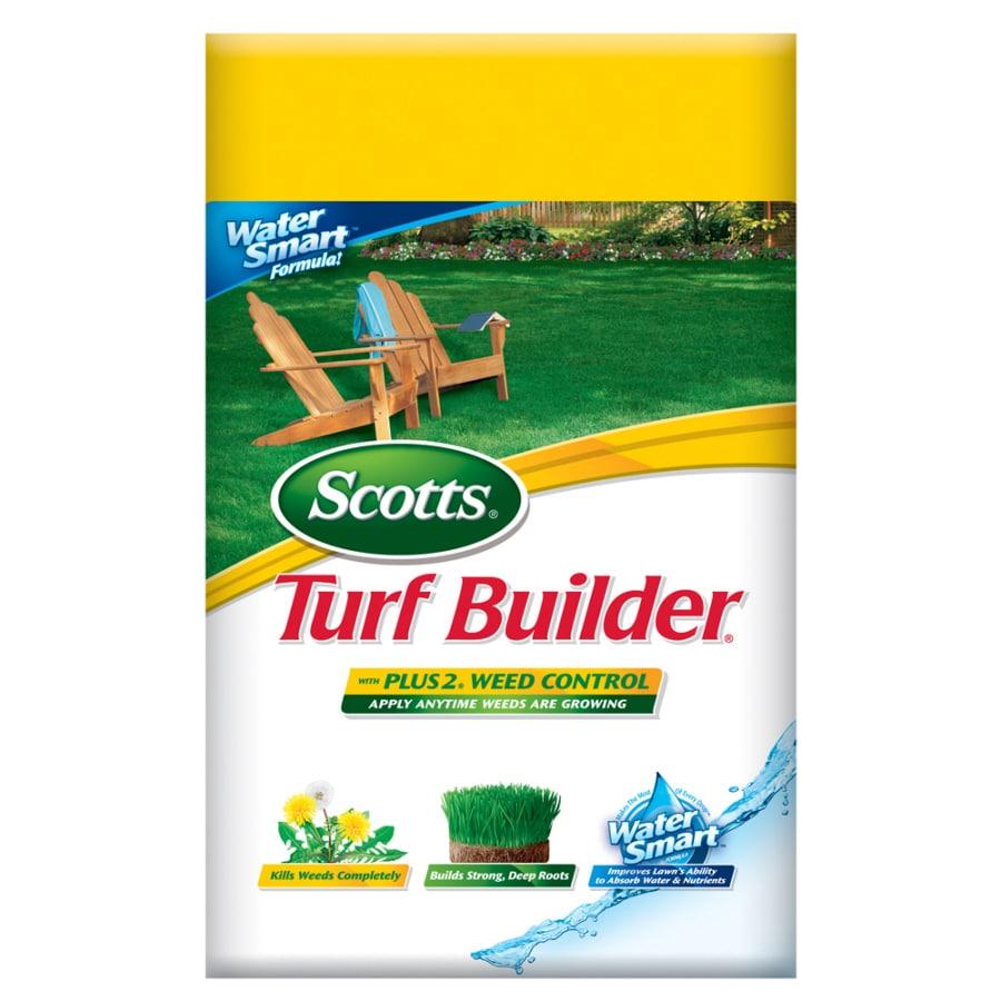 Scotts Turf Builder Plus Weed Control Lawn Fertilizer