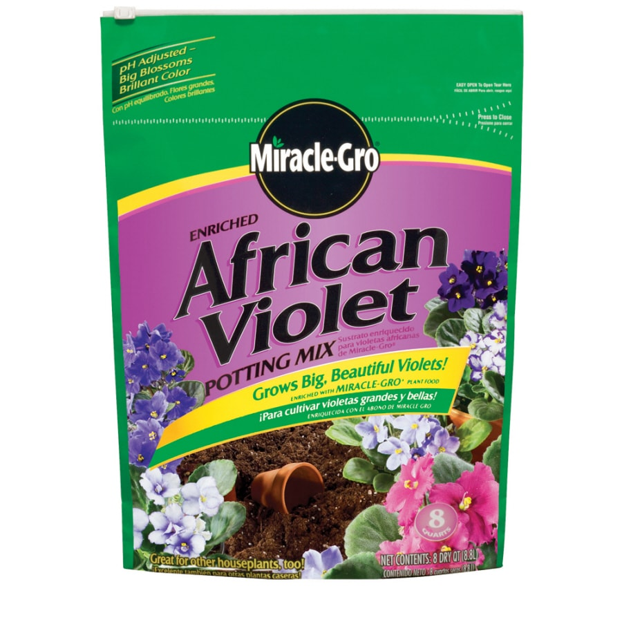 Miracle-Gro 8-Quart African Violet Soil