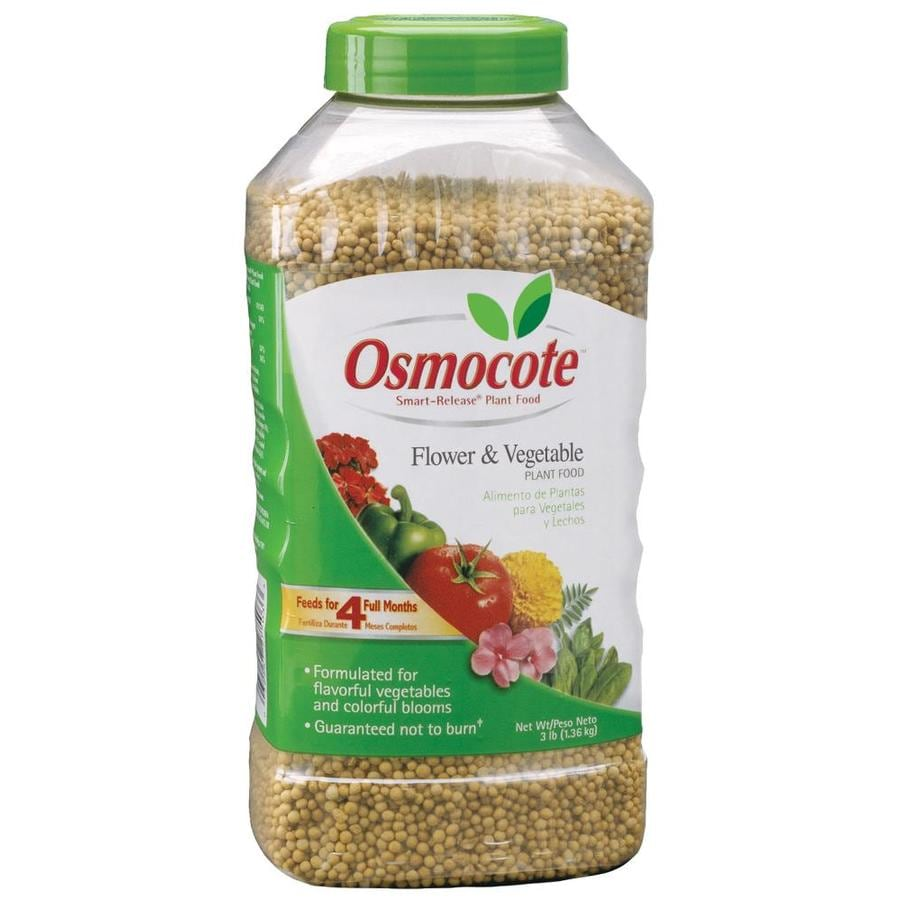 Osmocote 3-lb Flower and Vegetable Food (14-14-14)