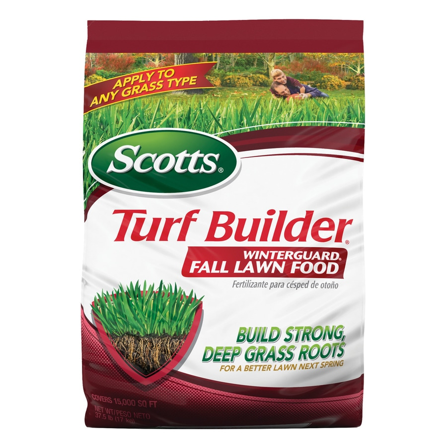 Scotts Turf Builder Winter guard Fall 42 Pound(S) Lawn Food (32 Percentage- 0 Percentage- 10 Percentage)