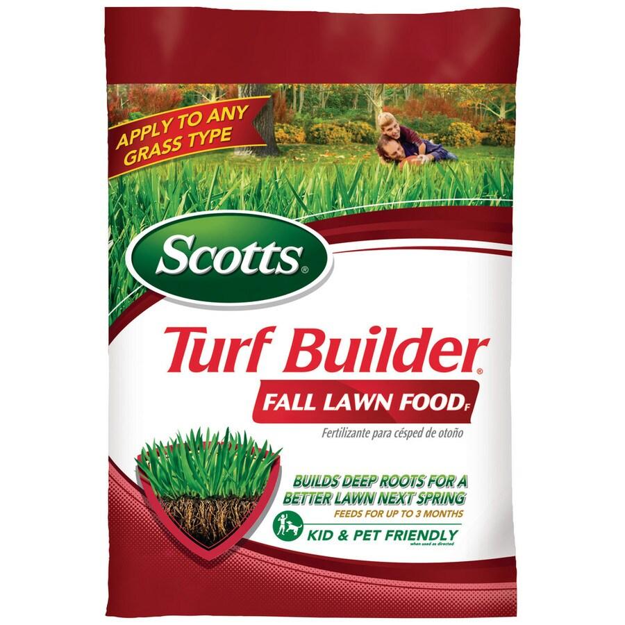 Scotts Turf Builder Fall Lawn Food- Florida 12.9 Pound(S) Lawn Food (32 Percentage- 0 Percentage- 10 Percentage)