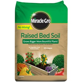 Lowes Miracle Gro Raised Bed Soil