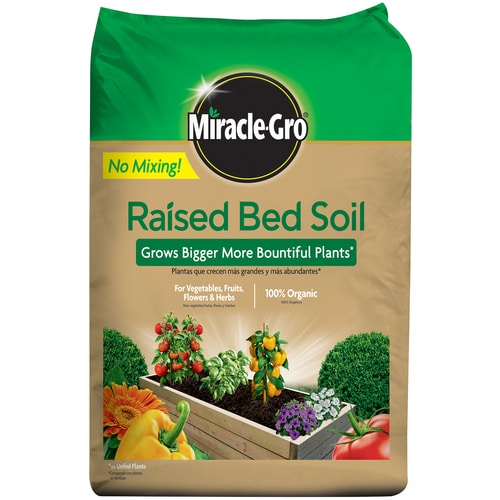 Miracle-Gro 1.5-cu Ft Organic Raised Bed Soil In The Soil
