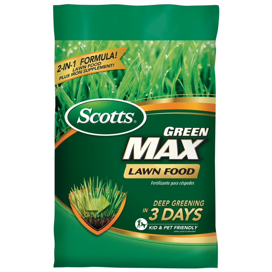 Scotts Green Max Florida 30.3 Pound(S) Lawn Food (33 Percentage- 0 Percentage- 2 Percentage)