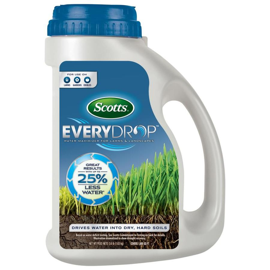 Scotts EveryDrop Water Maximizer for Lawns & Landscapes Shaker Jug Gran 27.2-lb 1800-sq ft 0-0-0 Lawn Food