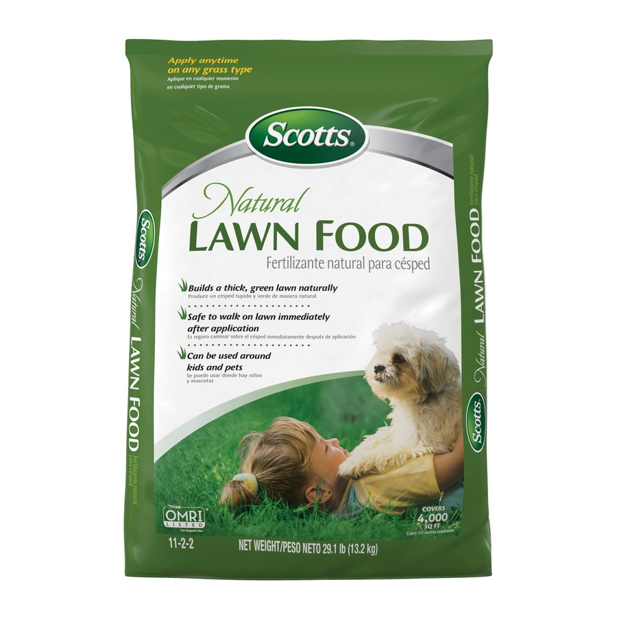 Scotts 4,000-sq ft Natural Lawn Food Organic or Natural Lawn Fertilizer (11-2-2)