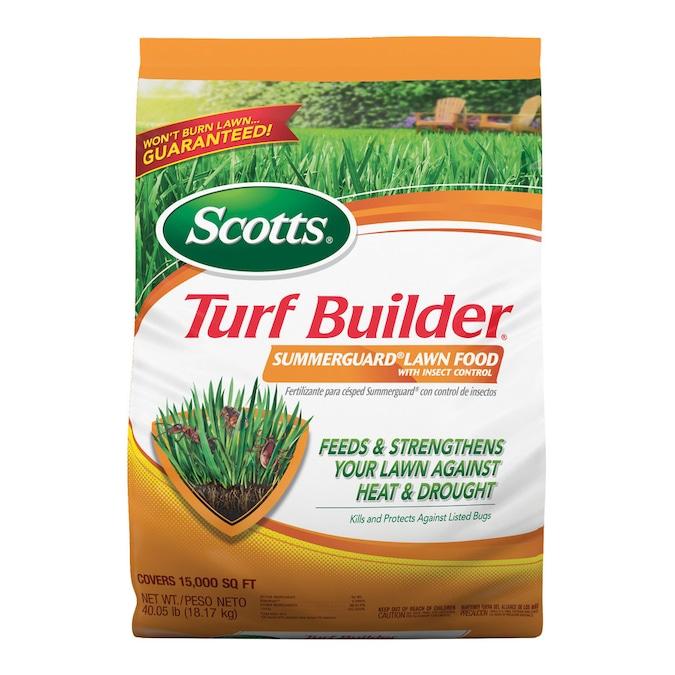 Scotts 40 05 Lb 15000 Sq Ft 20 0 8 All Purpose Lawn Fertilizer In The Lawn Fertilizer Department At Lowes Com