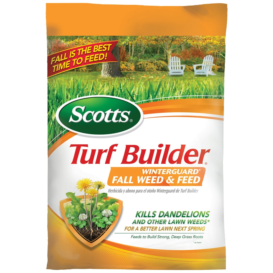 Scotts 5,000-sq ft Turf Builder Winterguard Fall Weed and Feed Fall Lawn Fertilizer (28-0-10)