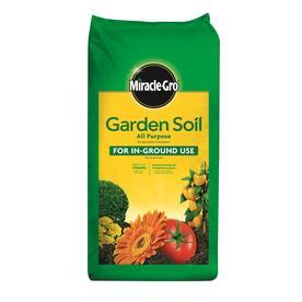 Soil soil amendments at - Miracle gro all purpose garden soil ...