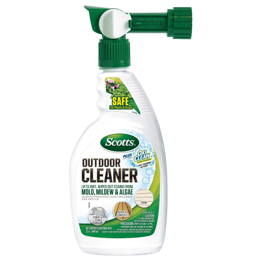 Scotts Outdoor Cleaner Plus Oxi Clean Ready-To-Spray
