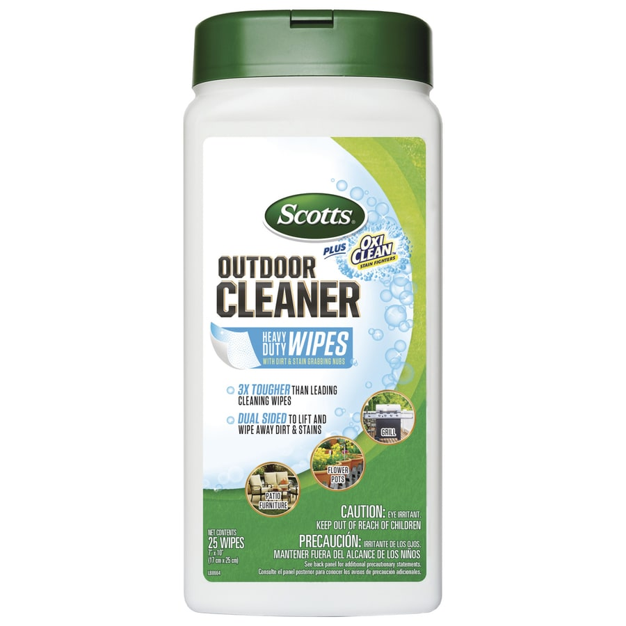 scotts outdoor cleaner wipes at lowes com