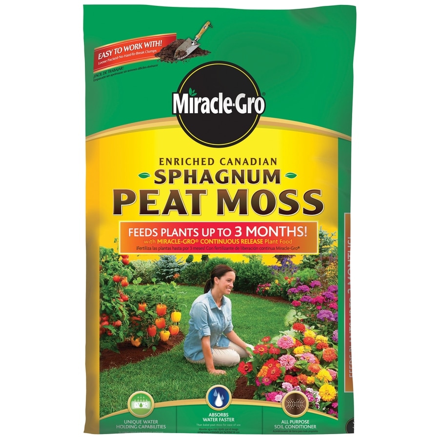 Miracle-Gro 2 cu ft Enriched Sphagnum Peat Moss