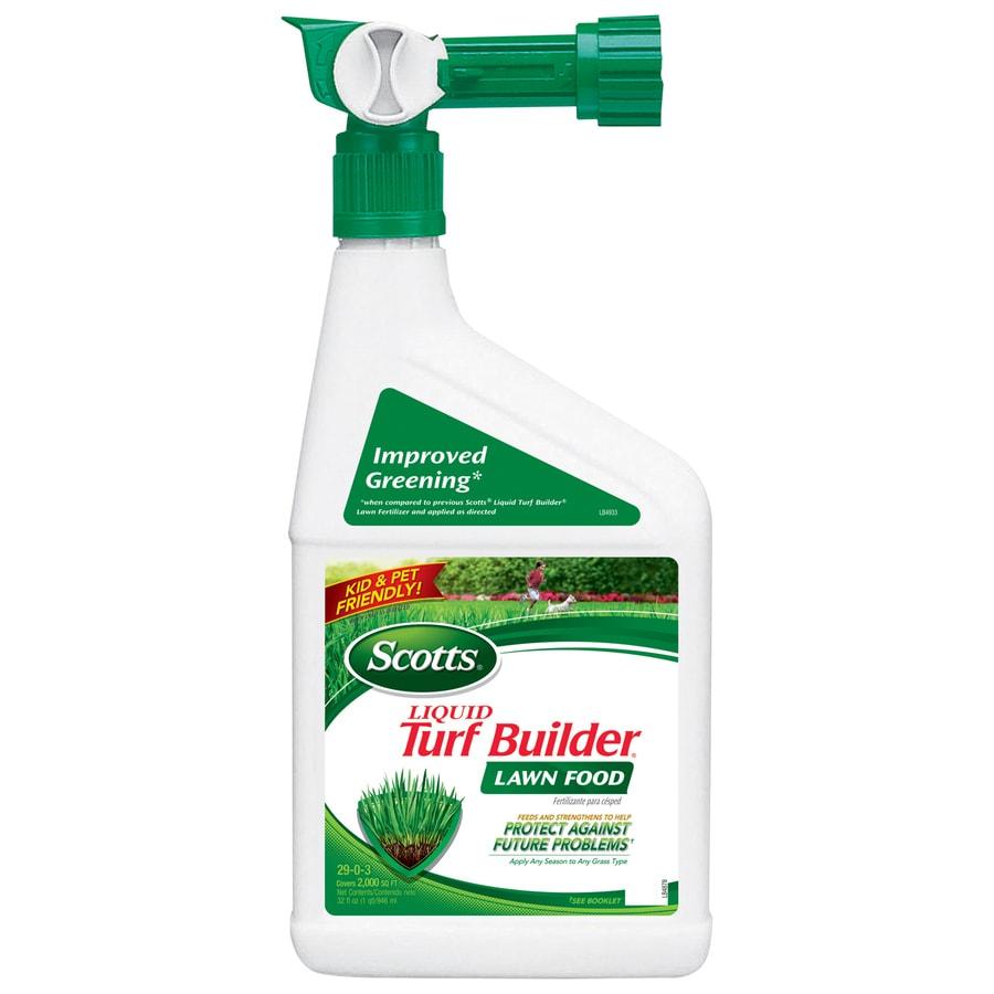 Scotts 2,000-sq ft Liquid Turf Builder Lawn Fertilizer (29-0-3)